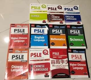PSLE past years papers from year 2009-2017