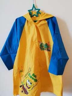 Spongebob Kids Raincoat Poncho (Size L)