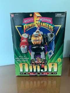 Power Rangers Ninja Zord with box