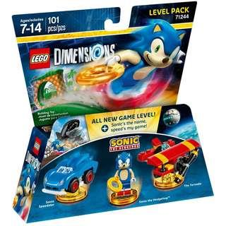 LEGO Sonic the Hedgehog Level Pack 71244