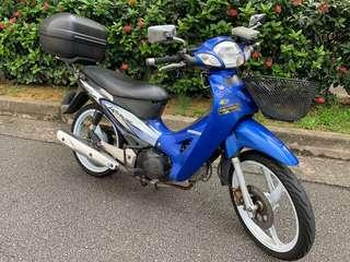 Honda Wave 125 . Registration date on 31/07/2003. Looking for full CASH deal only.