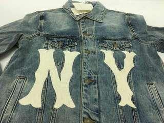 NY Yankee Denim Jacket