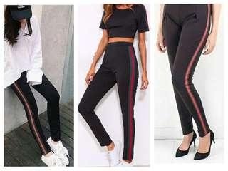 Inspired Quality Jogger Pants with stripesJogger Pants