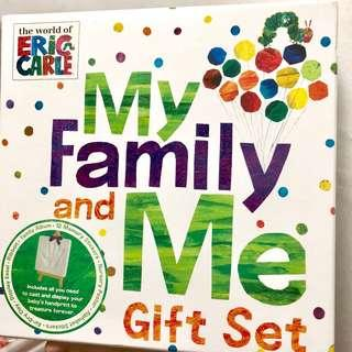 BNIB Eric Carle my Family and me Gift Set