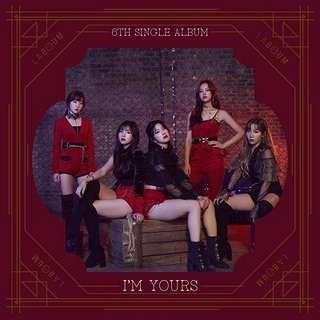 [PRE-ORDER] LABOUM 6th Single Album-I'M YOURS