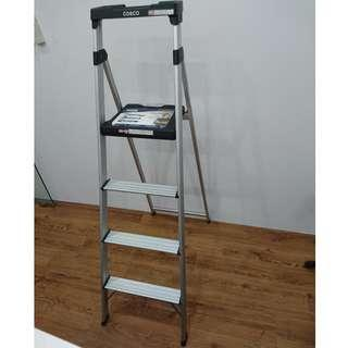 [Clearance 50%] COSCO 4 Steps Folding Step Ladder Lite Solutions Series RSP: $129.9