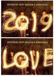 [PRE-ORDER] SECHSKIES 2019 Season's Greetings