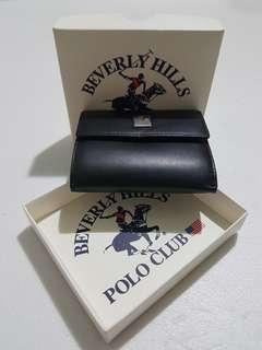 Beverly Hills leather wallet