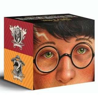 🚚 Harry Potter Books 1-7 Special Edition Boxed Set [PO]