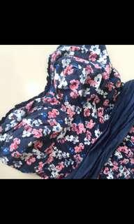 BN AUTHENTIC ABERCROMBIE & FITCH SUNDRESS BLUE