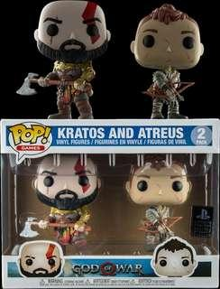 Kratos and Atreus Funko Pop