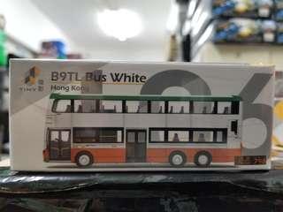 微影 Tiny City 合金車仔 #L06 ATC64401 B9TL 巴士 白色 798 Bus White Hong Kong