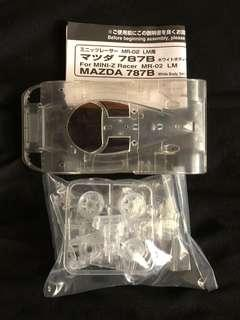 Kyosho Mini-z Mazda 787B limited edition transparent clear body shell(japan exclusive only)