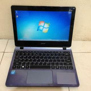 Netbook Pelajar Acer ES3-111 Celeron Ram 2GB Hdd 500GB