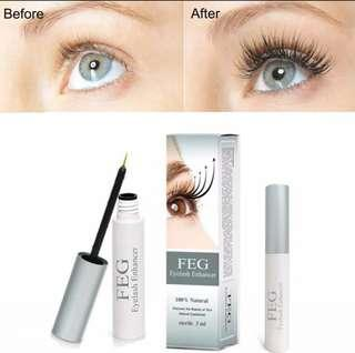 FEG Eyelash Enhancer Serum 3ML Strong Effective Growth Result Fast
