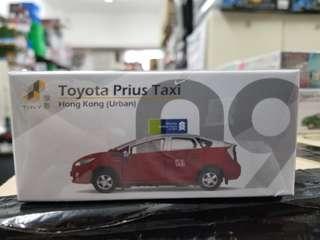 微影 Tiny City 合金車仔 #09 ATC64010 豐田 Prius 的士 市區 Toyota Prius Taxi Hong Kong Urban