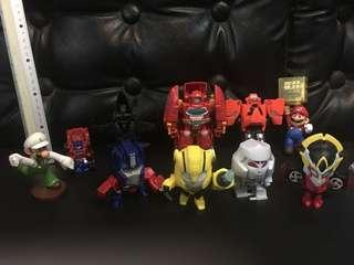 Transformers, mario and others