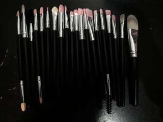Beginner's 20pcs eyeshadow make up brush set