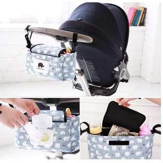 🚚 多功能推車掛袋 媽咪掛包 雜物收納包 含濕巾蓋 全部現貨