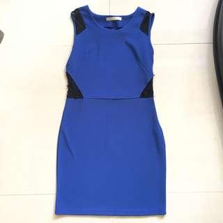 Lace & Bodycon Dress