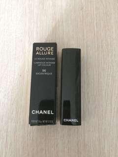 [包郵] Chanel Rouge Allure Luminous Intense Lip Colour #96 閃漾亮澤唇膏
