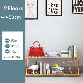 2Layer 50cm Folding rack
