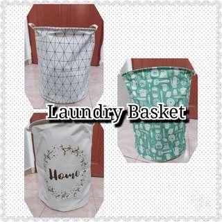 Ready Stock Folding Laundry Storage Basket