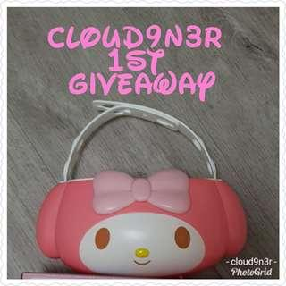 Cloud9n3r's First Facebook -Melody Holder Giveaway🎁