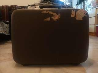 Antique luggages for sale.