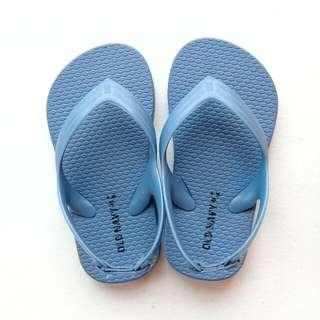 OLD NAVY SLIPPERS SIZE 7 (BLUE)