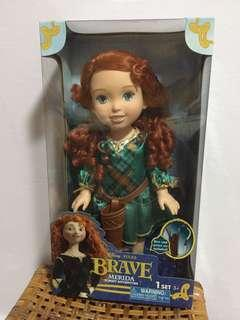 Disney Pixar Merida Brave Forest Adventure Doll