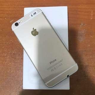iPhone 6 128gb gold Ex inter Bisa Tt