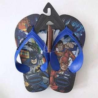 BNWT 25/26 Havaianas Superheros Flip Flops