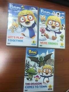DVD Pororo - The Little Penguin