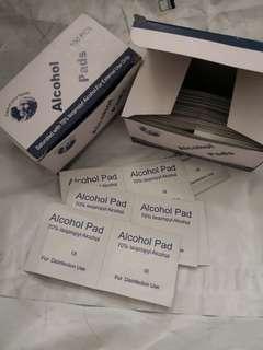 🚚 Isopropyl alcohol wipes