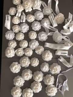 Chanel Camellia & Long Ribbons