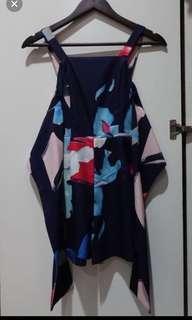 Blue navy jumpsuit