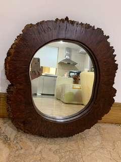Jarrah Wood Mirror