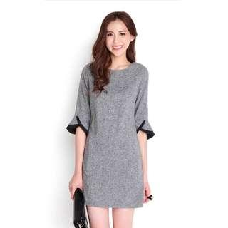 Lilypirates Valedictorian Dress In Tweed Grey Size Small (Brand New with Tag) #next30