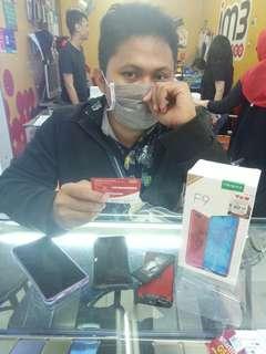 Tq mas Alex sudah kredit OPPO F9 Ram 4/64 GB nyaa... Bagi yg berminat kredit bisa chat/telpon/wa yh.. Proses cepat say 3 menit sayy