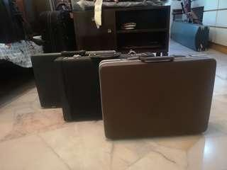 Antique luggage for sale.