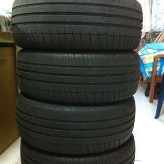 WTS: 4 pcs of Michelin Pilot Sport 3 195/55/15