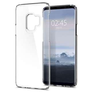 Spigen Samsun S9 Thin Fit Crystal Clear Case