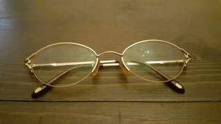 Cartier Reading Glasses Original Gold Plated