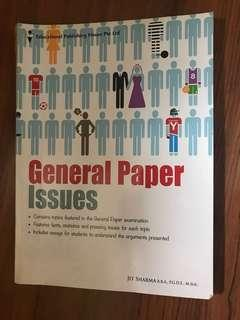 A level GP General paper issues