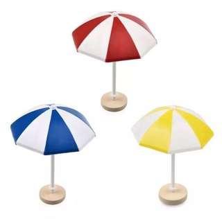 Terrarium Accessories / Terrarium Beach Umbrella / Miniature Beach Umbrella