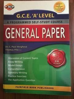 A level GP comprehensive guidebook