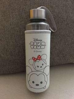 Disney Tsum Tsum Glass Water Bottle