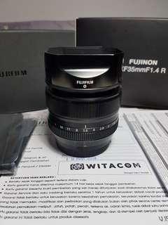Fujinon XF 35mm F1.4 FFID Maret19 Like New Bonus Lensa Fujifilm