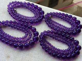 紫水晶塔鏈 700元1條  中銀入數 順豐自取